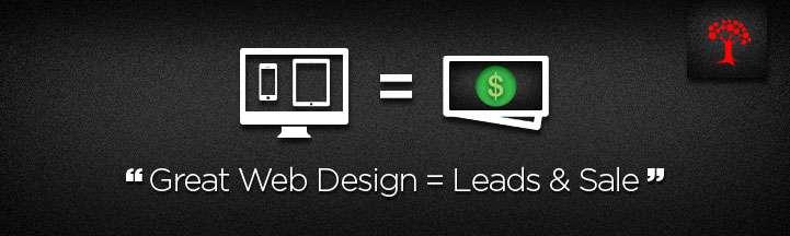 Great Web Design = Leads & Sale