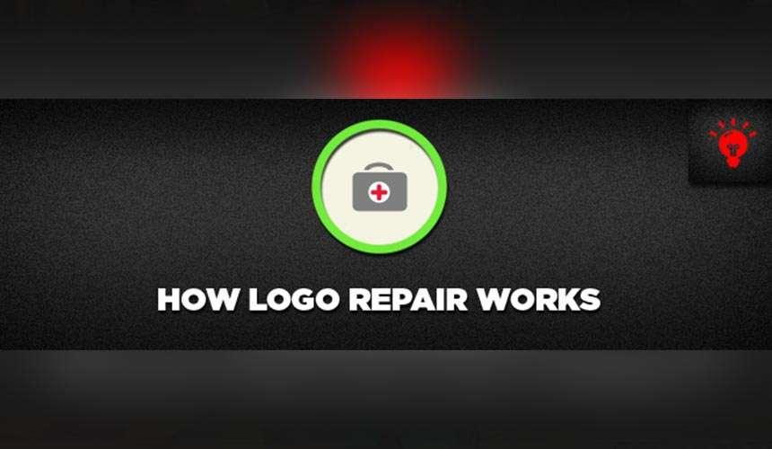 How Logo Repair Works