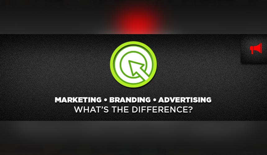 Marketing, Branding and Advertising. What's the difference?
