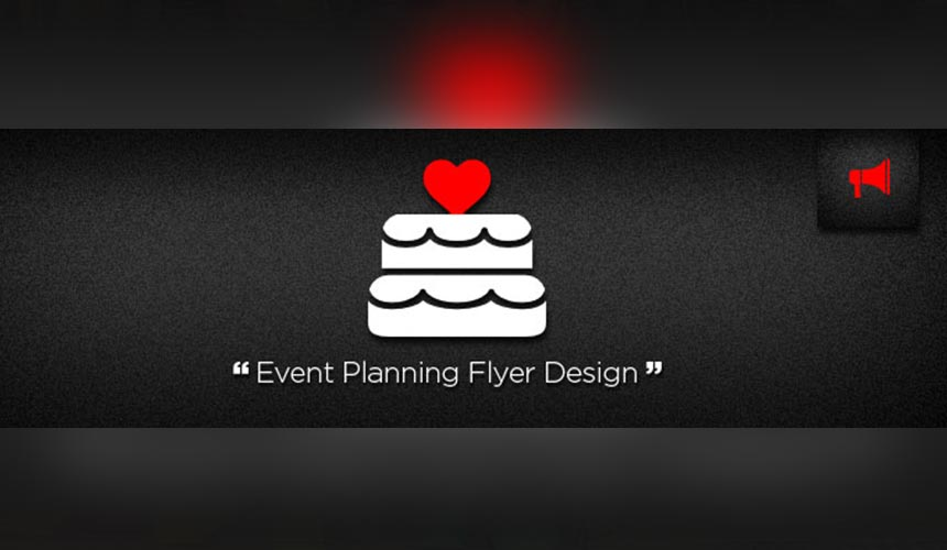 Event Planning Flyer Design