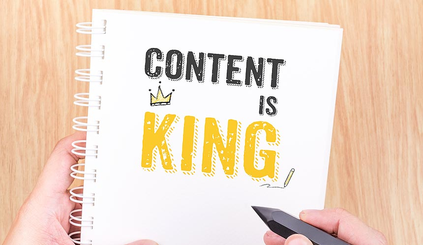 (Good) Content Is King