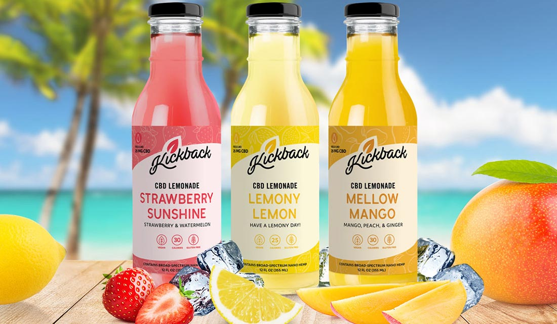 Mad Mind Studios Partners with Kickback on New CBD Lemonade Drinks