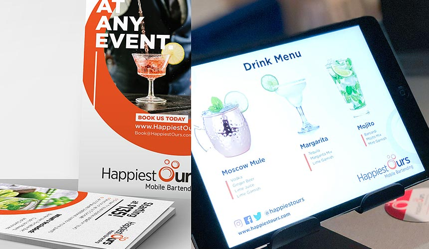 Mad Mind Studios Partners With Bartending Company Happiest Ours