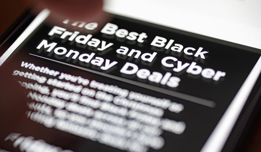 5 Tips for Your Black Friday and Cyber Monday Social Media Campaigns